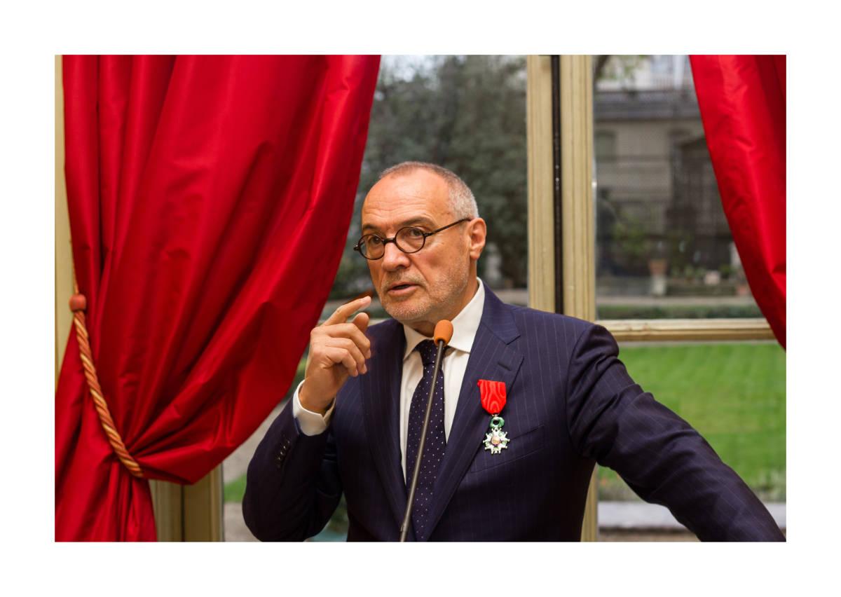 Remise Legion d'honneur