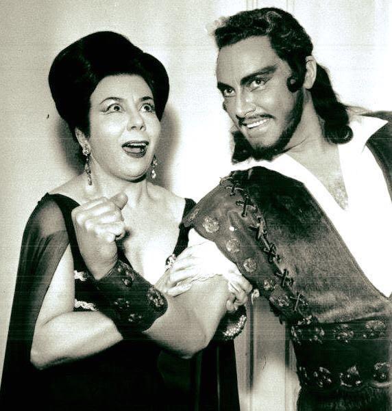 Mario Del Monaco-Giulietta Simionato, Samson et Dalila, La Scala, 1960