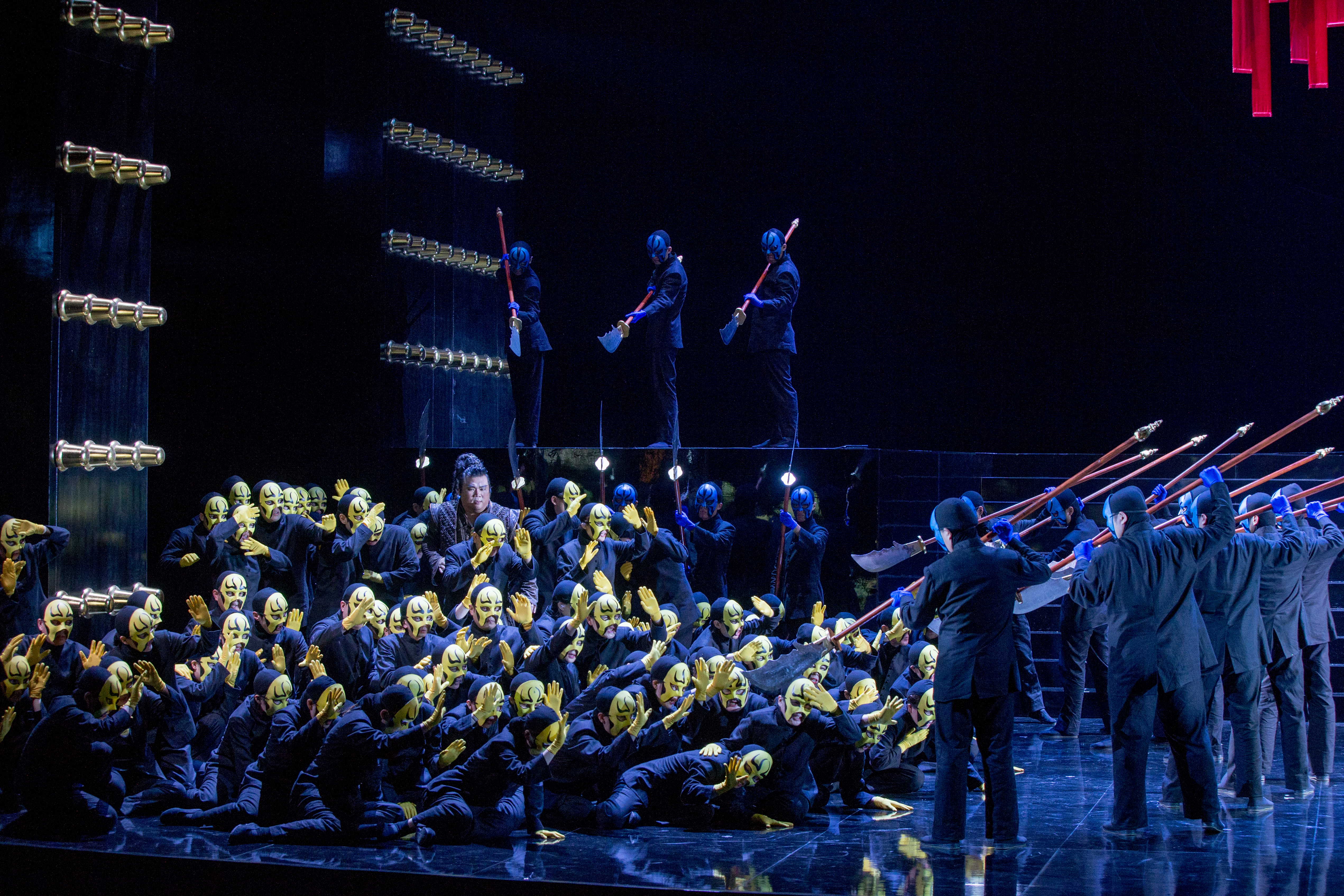 杜蘭朵-普契尼三幕歌劇總彩排