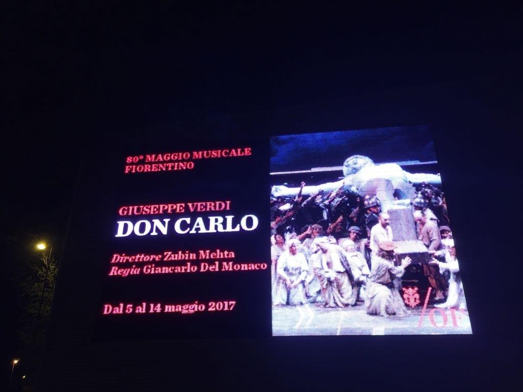 Don Carlo a Firenze - locandina