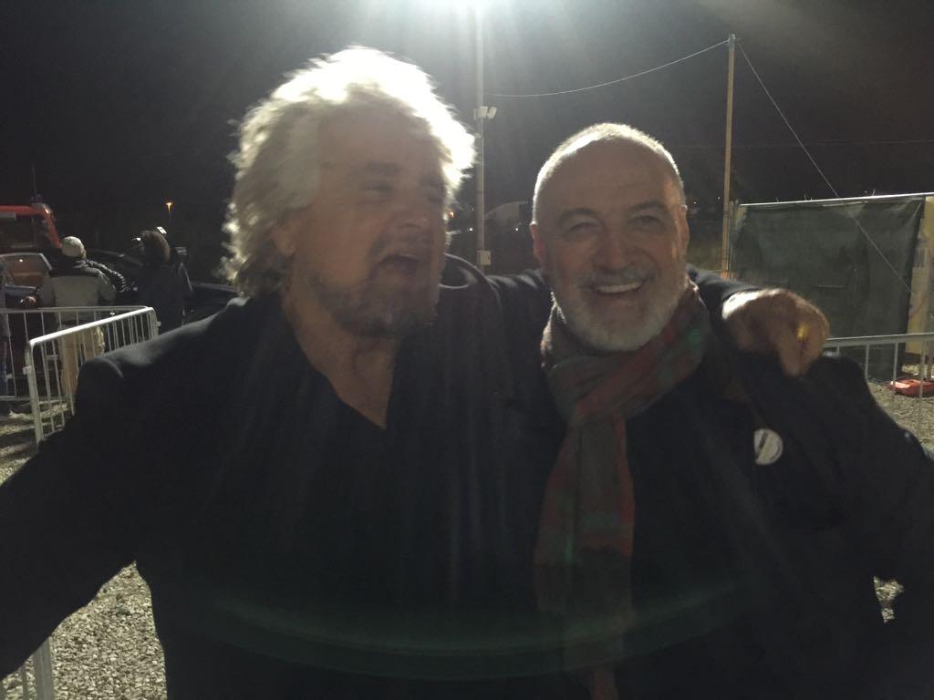 con Beppe Grillo_Rimini_23 settembre 2017