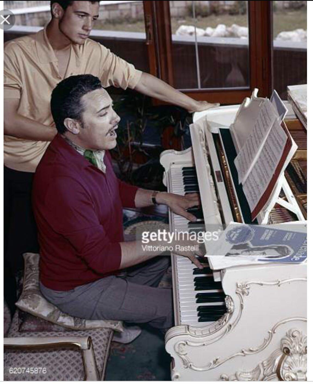 Mario e Giancarlo pianoforte