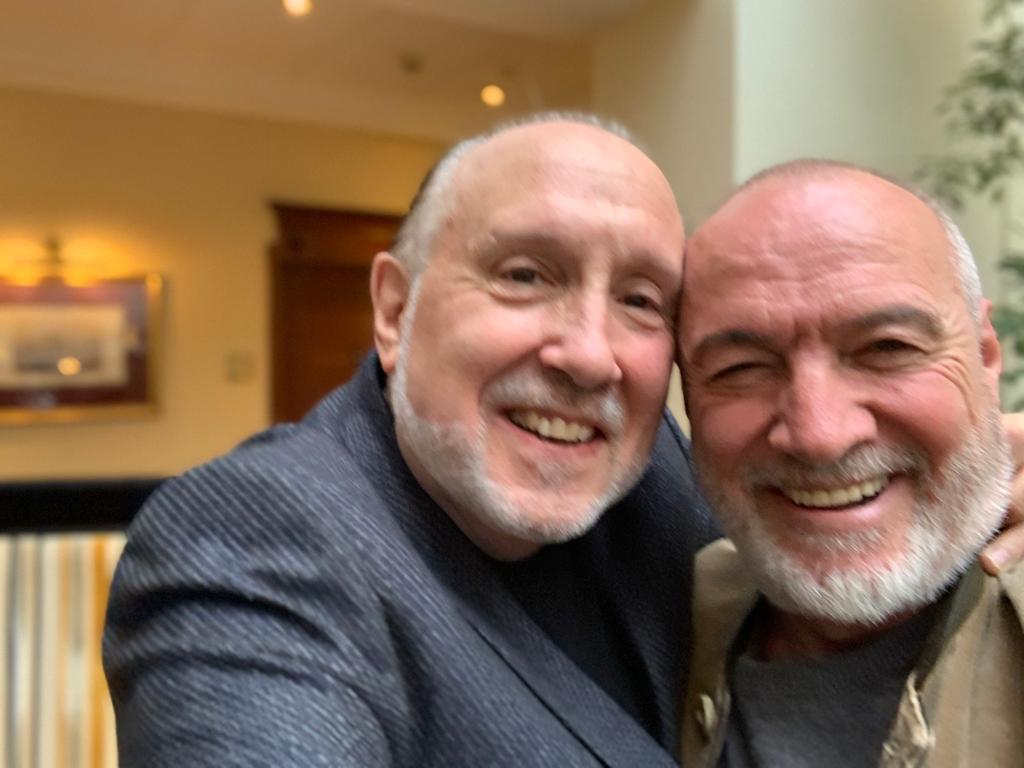 Con Neil Shicoff a Mosca